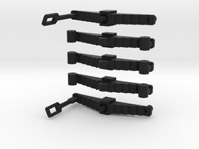 Egine Springs Set 1 in Black Natural Versatile Plastic