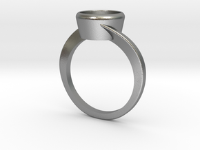 Jupiter Solitaire in Natural Silver: 10.5 / 62.75