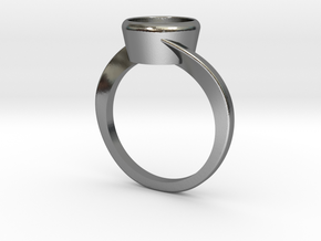 Jupiter Solitaire in Polished Silver: 10.5 / 62.75