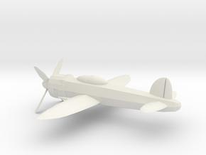 World War 2 fighter in White Natural Versatile Plastic: 6mm