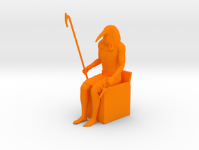 Thoth Ibis in Orange Strong & Flexible Polished