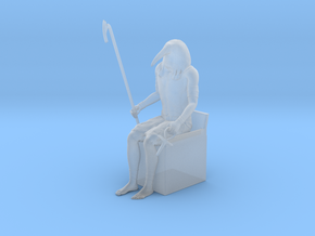Thoth Ibis in Smooth Fine Detail Plastic