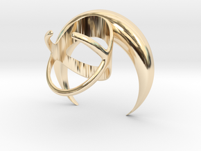 Renaissance Moon Ring in 14K Yellow Gold: 7 / 54