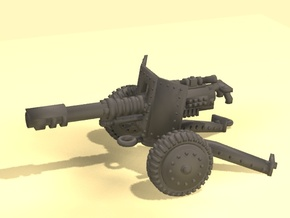 28mm SciFi laser cannon in White Strong & Flexible