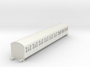 O-87-mk1-57-all-2nd-coach in White Natural Versatile Plastic
