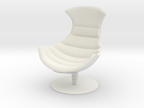 Lobster Armchair in White Natural Versatile Plastic