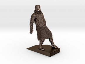 HODOR in Polished Bronze Steel