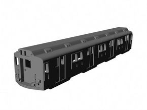 NYCTA R-10 Trailer (Unpowered) in Smooth Fine Detail Plastic