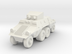 1/87 Austrian ADGZ Armored Car in White Natural Versatile Plastic