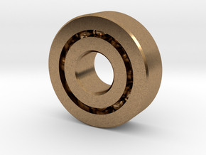Bearing608 in Natural Brass