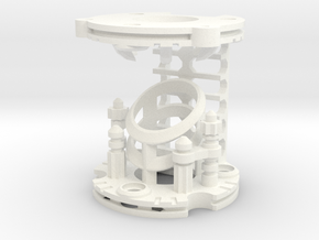 MPP2.0 - Part 3/10 - Chamber in White Processed Versatile Plastic