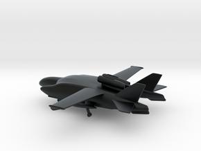 Beriev VVA-14 1M (Landing Gears) in Black Hi-Def Acrylate: 6mm