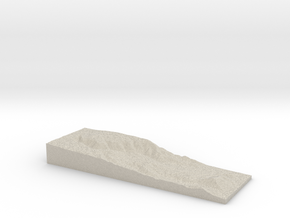 Model of Father Crowley Viewpoint in Sandstone