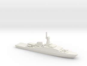 Khareef-class corvette, 1/2400 in White Natural Versatile Plastic