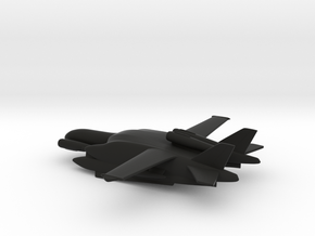 Beriev VVA-14 M1P (Rigid Pontoons) in Black Natural Versatile Plastic: 1:400