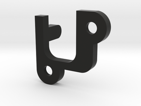 AEP - C Clip in Black Natural Versatile Plastic