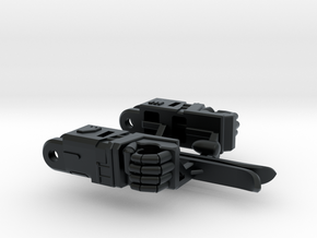 Aerial Guardian Arms in Black Hi-Def Acrylate
