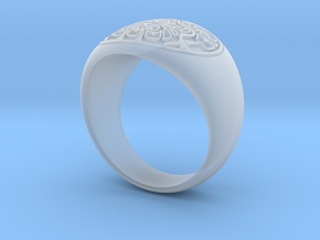 Raven Ring in Smoothest Fine Detail Plastic
