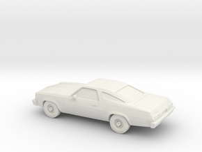 1/87 1974 Chevrolet Chevelle Coupe in White Strong & Flexible