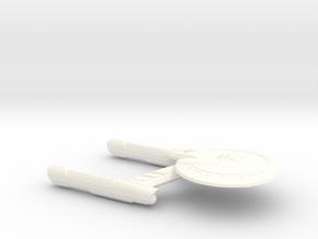 Terran Minotaur-A Class Gen 2 Cruiser  - 1:7000 in White Processed Versatile Plastic