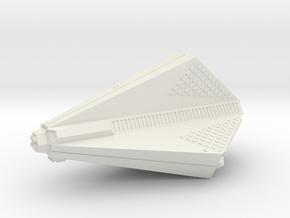 3788 Scale Tholian Destroyer (DD) SRZ in White Natural Versatile Plastic