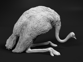 Ostrich 1:48 Guarding the Nest in Smooth Fine Detail Plastic