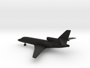 Dassault Falcon 50 in Black Strong & Flexible: 1:200