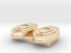 air cleaner 1 18 scale in 14K Yellow Gold: 1:18