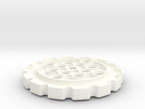 14 Teeth Sprocket in White Processed Versatile Plastic