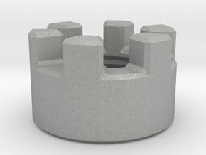 Crenulated Emitter in Aluminum