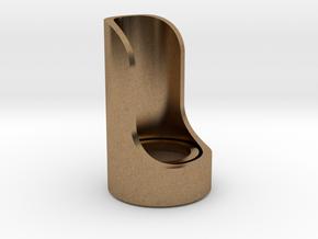 Cutaway Emitter in Natural Brass