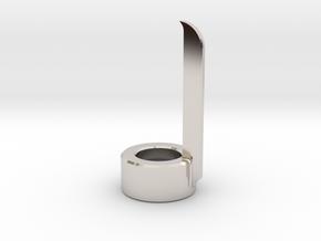 Finger Blade Emitter in Platinum