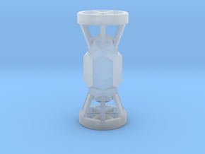 Kyber Crystal in Smooth Fine Detail Plastic