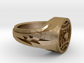 itf tkd ring size 11 in Polished Gold Steel