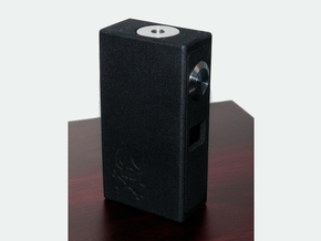 SX350 18650 Mod in Black Natural Versatile Plastic