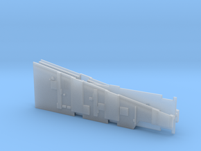 SMUGGLER FREIGHTER MPC RAMP WALLS in Smooth Fine Detail Plastic
