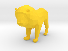 Lion in Yellow Strong & Flexible Polished