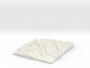 Rhondda W290 S185 E310 N210 in White Natural Versatile Plastic