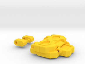 The Inquisitor's Chest for Titans Return in Yellow Processed Versatile Plastic