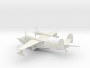 Beriev Be-12 Chayka (Landing Gear) in White Natural Versatile Plastic: 1:200