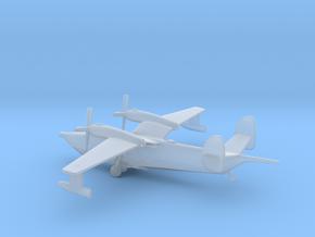 Beriev Be-12 Chayka (Landing Gear) in Smooth Fine Detail Plastic: 1:400