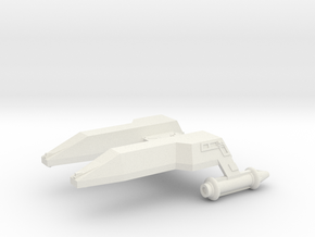 3125 Scale LDR Destroyer (DD) CVN in White Natural Versatile Plastic