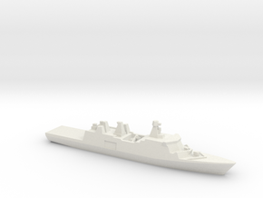 Absalon-class support ship, 1/2400 in White Natural Versatile Plastic