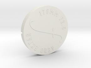 Lens Cap - Aero Ektar w/ Short Hood v2 in White Natural Versatile Plastic