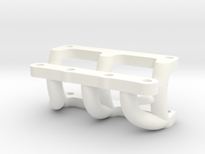 081008-01 KingCab Front Bumper Mount -Stock Bumper in White Processed Versatile Plastic