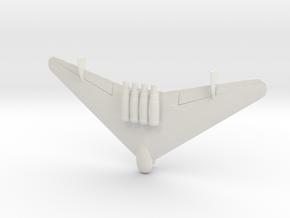 1:285 Junkers EF.130  in White Natural Versatile Plastic