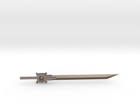 Transformers Great Sword in Polished Bronzed Silver Steel