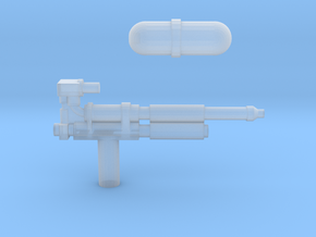 Transformers Super Soaker in Smooth Fine Detail Plastic