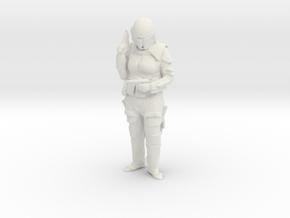 Printle C Femme 020 - 1/18 - wob in White Natural Versatile Plastic