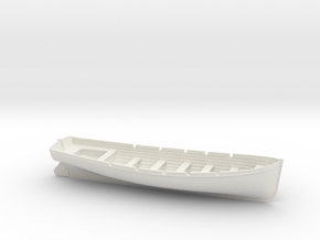 1/35 DKM 8m Long Boat in White Natural Versatile Plastic